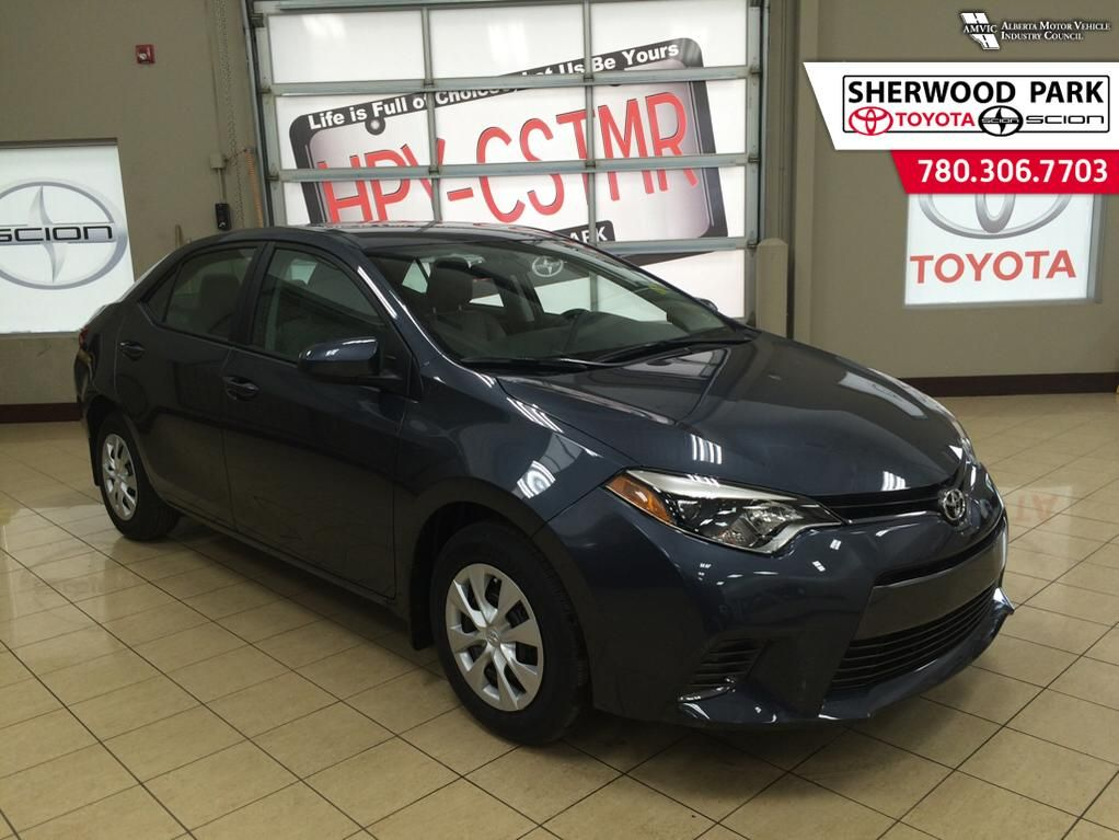 new 2016 toyota corolla le eco 4 door car in sherwood park 6co9181 sherwood park toyota. Black Bedroom Furniture Sets. Home Design Ideas