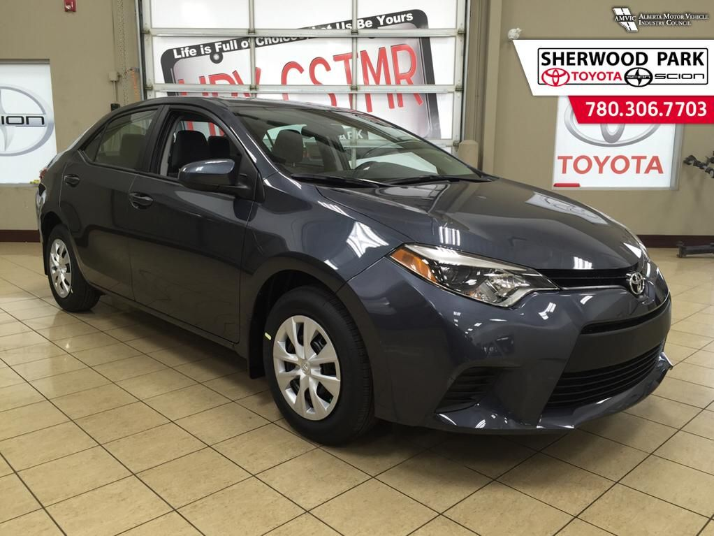 new 2016 toyota corolla l 4 door car in sherwood park 6co4268 sherwood park toyota. Black Bedroom Furniture Sets. Home Design Ideas