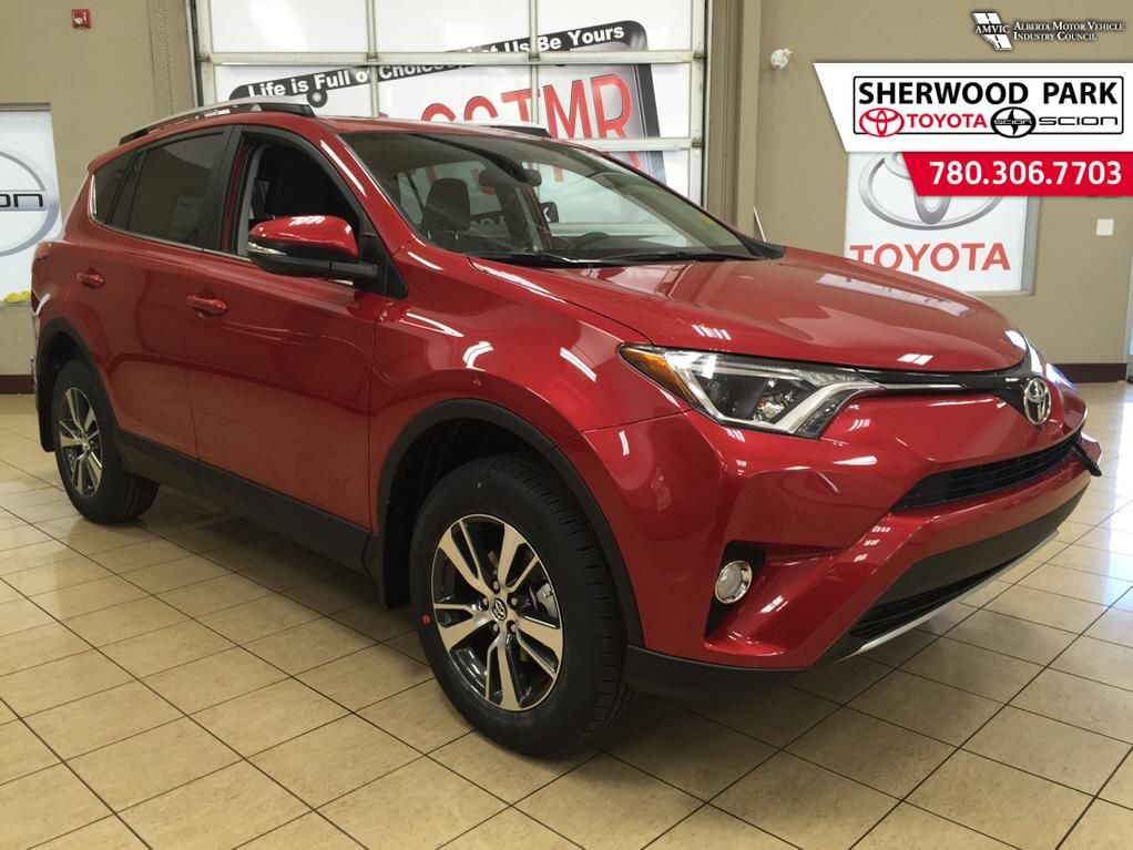 new 2016 toyota rav4 xle 4 door sport utility in sherwood park 6ra1124 sherwood park toyota. Black Bedroom Furniture Sets. Home Design Ideas
