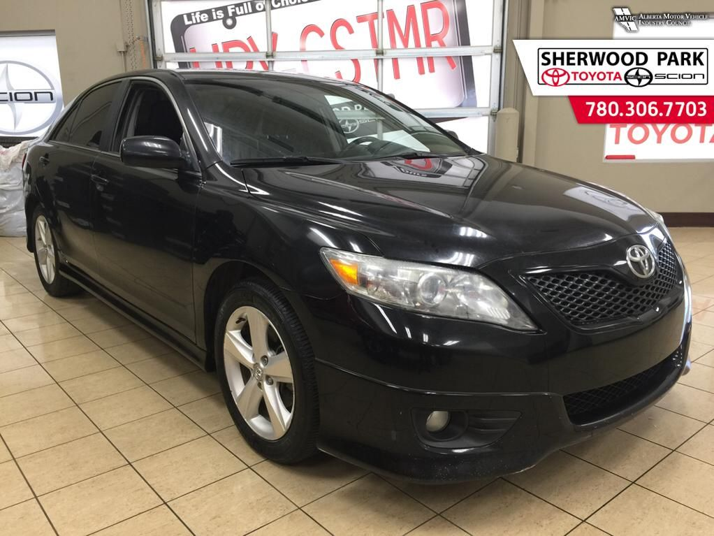 pre owned 2010 toyota camry se clearance 4 door car in sherwood park 64r4414a sherwood park. Black Bedroom Furniture Sets. Home Design Ideas