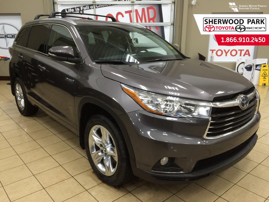 new 2016 toyota highlander hybrid limited 4 door sport. Black Bedroom Furniture Sets. Home Design Ideas