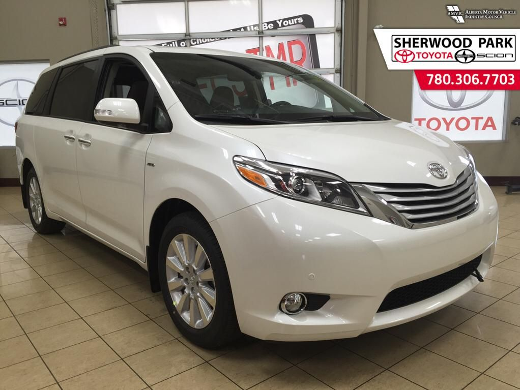 new 2016 toyota sienna xle 4 door mini van passenger in sherwood park 6si6789 sherwood park. Black Bedroom Furniture Sets. Home Design Ideas