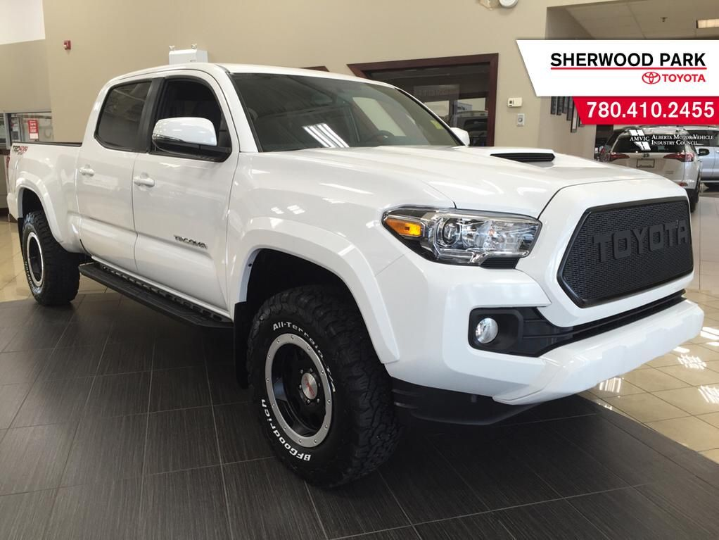 new 2016 toyota tacoma sr5 4 door pickup in sherwood park 6ta1884 sherwood park toyota. Black Bedroom Furniture Sets. Home Design Ideas