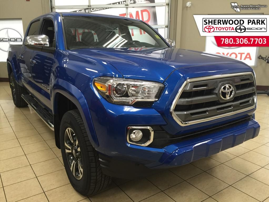 new 2016 toyota tacoma limited 4 door pickup in sherwood park 6tu9925 sherwood park toyota. Black Bedroom Furniture Sets. Home Design Ideas