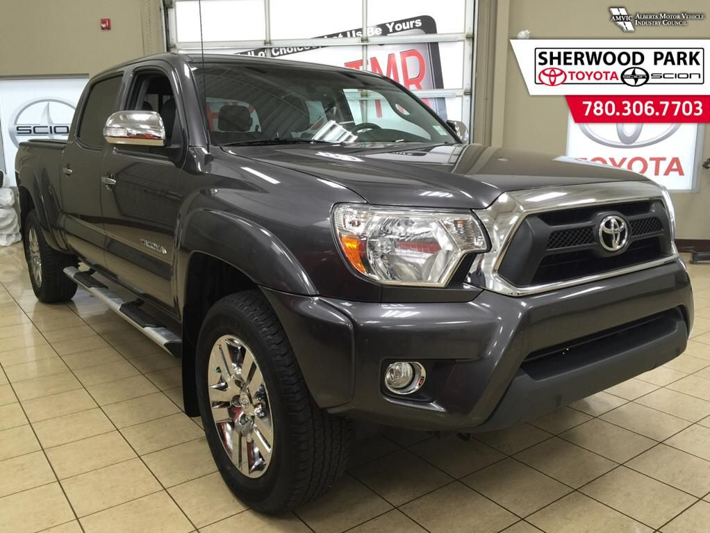 certified pre owned 2013 toyota tacoma limited 4 door pickup in sherwood park p1497 sherwood. Black Bedroom Furniture Sets. Home Design Ideas