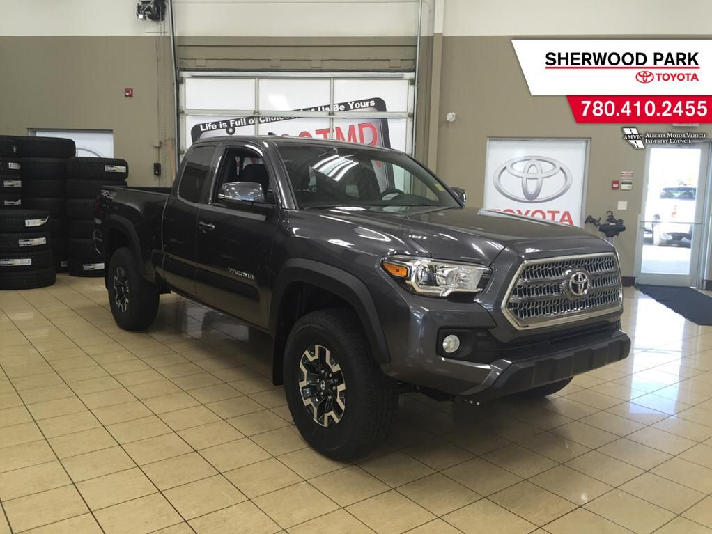 new 2017 toyota tacoma trd off road 4 door pickup in sherwood park ta77260 sherwood park toyota. Black Bedroom Furniture Sets. Home Design Ideas