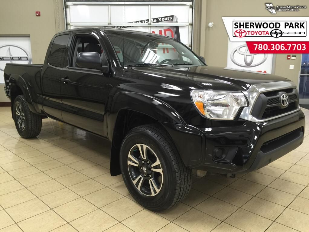 certified pre owned 2015 toyota tacoma sr5 plus package 4 door pickup in sherwood park 6ta1368a. Black Bedroom Furniture Sets. Home Design Ideas