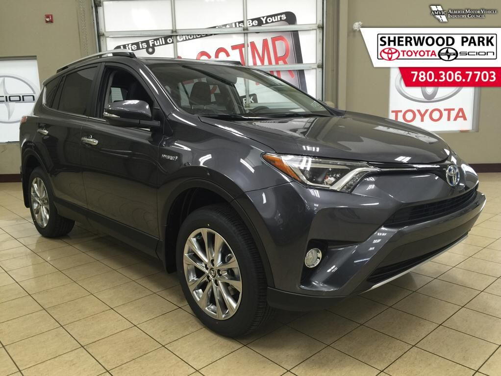 new 2016 toyota rav4 hybrid limited 4 door sport utility in sherwood park 6ra2052 sherwood. Black Bedroom Furniture Sets. Home Design Ideas